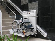 1000 id es sur fauteuil roulant sur pinterest auras souplesse et sant - Monte escalier pour fauteuil roulant ...