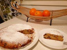 Η ποιο τέλεια μηλόπιτα κέικ αφράτη και λαχταριστή που έχετε φάει ποτέ, θα την λατρέψετε.. - Χρυσές Συνταγές Camembert Cheese, Dairy, Eggs, Breakfast, Cake, Food, Morning Coffee, Kuchen, Essen