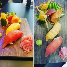 The Sashimi n Nigiri The best raw ones Salmon n Tuna #zomato #zomatodubai #zomatouae #dubai #dubaipage #dubaifoodlovers #dubaifoodblogger #dubaifoodbloggers #uae #inuae #uaefoodlovers #uaefoodblogger #uaefoodbloggers #foodstagram #foodphotography #foodblogger #foodreview  @moshiuae