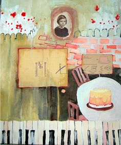 Dana Harris - I love her keyboards and muted color style... Her and her twin sister are a dangerous duo!