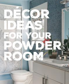 Give your half bath some big personality with these decor ideas: