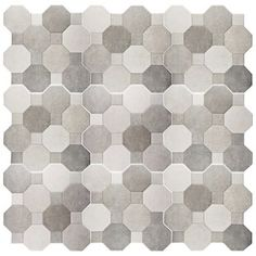Merola Tile Imagine Cement in. Ceramic Floor and Wall Tile sq. / case) at The Home Depot - Mobile Ceramic Mosaic Tile, Marble Mosaic, Mosaic Wall, Wall Tiles, Best Floor Tiles, Bathroom Floor Tiles, Downstairs Bathroom, Marble Subway Tiles, Buy Tile