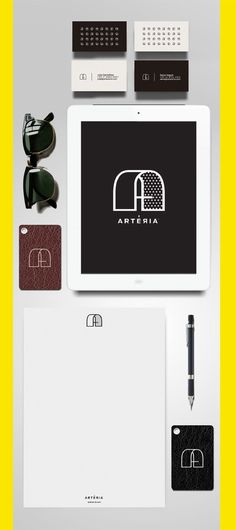 Arteria identity design. Absolutely gorgeous symbol!