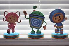 Team Umizoomi Birthday Party Centerpieces