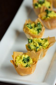 Tofu Quiche Cups | The Viet Vegan | Delicious, crispy, easy to make! Great appetizers for parties or for a game day snack!