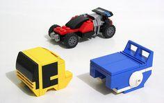Lego Dakar Buggy Truck