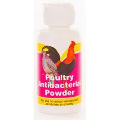 Medel som läker sår hos höns och andra fjäderfä. Små sår kan lätt bli infekterade hos fjäderfä och detta läkande pulver hjälper till att läka såren.