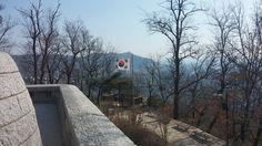 서울 중랑구 봉화산 봉화대 정상