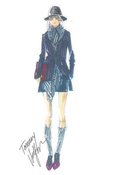 tommy hilfiger sketch love