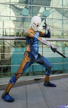 Gray Fox: Cyborg Ninja by effektdmentality