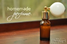 Homemade All Natural Perfume