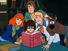 Scooby-Doo, Where Are You? The classic image of the gang...