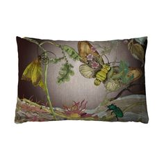 Timorous Beasties Cushions - Moth Noir
