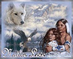 Native Love Couple