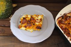 Le lasagne alla zucca sono la variante autunnale per eccellenza delle classiche lasagne. Ho aggiunto alla zucca lo speck croccante e la scamorza per creare la crosticina croccante Quiche, Gluten Free, Breakfast, Food, Lasagna, Breakfast Cafe, Glutenfree, Essen, Quiches