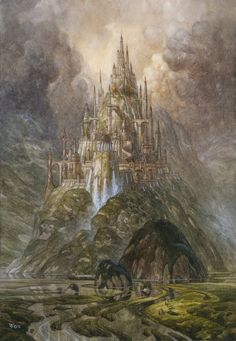 Gondolin: (hidden rock) Noldor´s secret city built by Turgon in Beleriand