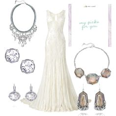 """""""I DO!"""" by yasheena-flemming on Polyvore featuring Chloe and Isabel jewelry... Shop my boutique @ https://www.chloeandisabel.com/boutique/gretasjewelrybox"""