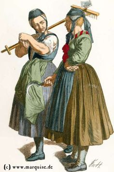 German women 1840