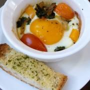 Breakfast - The Nourishing Home Baked Eggs