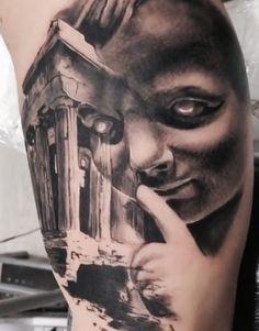 Olimpo y cupido tattoo