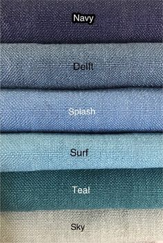 Natura Collection available in 40 colors! Shabby Chic Curtains, Linen Curtains, Linen Fabric, Burlap Fabric, Cushion Fabric, French Pleat, Drapery Designs, Custom Drapes, Drapery Panels