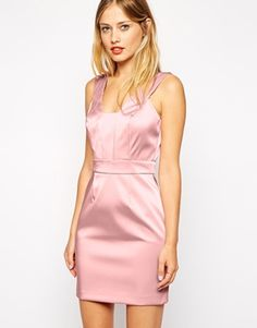 Warehouse+Satin+Prom+Dress