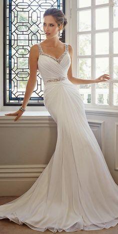 Sophia Tolli Fall 2014 Bridal Collection | http://bellethemagazine.com