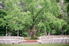 Lovely Gingko Tree Wedding Layout. #aldridgegardens