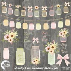 Country Wedding Clipart 1031. Wedding Card Templates