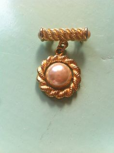 Beautiful antique vintage faux pearl medal by yorkshiretreasure
