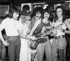 #SteveHarris 1976 Iron Maiden in the Early Days