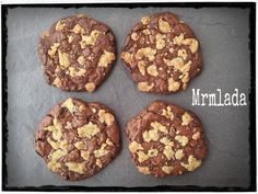 Mrmlada: Cookies de chocolate y crujiente de avellana. El Asaltablogs