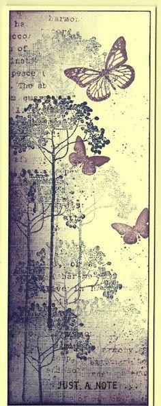 Artful Evidence: Card - Butterflies
