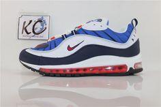 """Nike Air Max 98 """"Gundam"""" 640744-100 Gundam, Nike Air Max, The 100, Sneakers Nike, Shoes, Fashion, Nike Tennis, Moda, Zapatos"""
