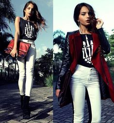 #edgy #fashion #chic