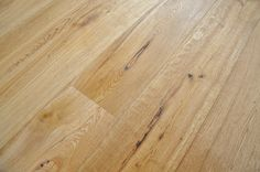 UV Oiled & Brushed Rustic Engineered Oak. A traditional brushed and oiled finish meaning that the softer part of the grain has been brushed out during the finishing process to create a lovely texture. #lightoakfloorboards #engineeredoakflooring