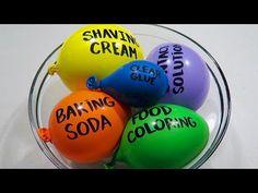 Making Slime With Balloons! | Slime Balloon Tutorial | Satisfying Slime ASMR !! - YouTube