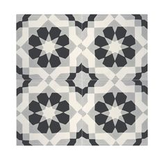 Argana Black and Grey Handmade Cement/ Granite 8-inch x 8-inch Floor and Wall Tile (Morocco) (Pack of 12) - Overstock Shopping - Great Deals on Accent Pieces