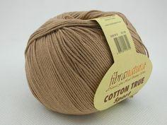 Włóczka Cotton Tru Sport kolor kakaowy nr 107-15 Pasmanteria U Gaby