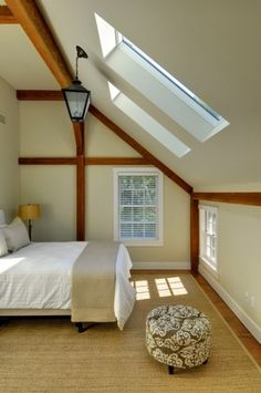 Bedroom Contemporary Barn Home YBH
