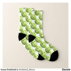 Green Pickleball Socks