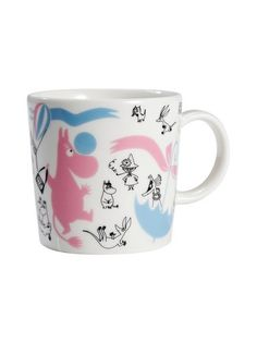 Arabia Finland Moomin Mug 'Stockmann 150 Edited Collection nro Moomin Mugs, Home Goods Furniture, Tove Jansson, Moomin Valley, Christmas Stocking Fillers, Dear Santa, Candy Colors, Album, Tea Pots