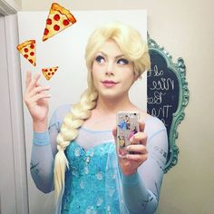 Pin for Later: This Guy Cosplays Flawlessly as Both Disney Princes AND Princesses — We're in Awe Or her older sister, Queen Elsa.