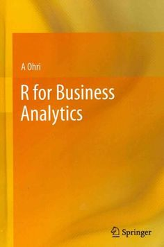 R for Business Analytics looks at some of the most common tasks performed by business analysts and helps the user navigate the wealth of information in R and its 4000 packages. With this information t