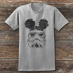 Storm Trooper Mickey Ears, Star Wars shirt, Disney fan shirt, Disney parks shirt, Disney shirt, Disney World Shirt by somanygreatthings on Etsy