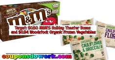 Target: $0.50 M&M'S Holiday Theater Boxes and $0.94 Woodstock Organic Frozen Vegetables - http://couponsdowork.com/target-weekly-ad/target-0-50-mms-holiday-theater-boxes-and-0-94-woodstock-organic-frozen-vegetables/