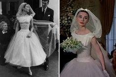 23 Movie Wedding Dresses that Stun Onscreen - Movie Wedding Dresses, Wedding Movies, Wedding Dress Sleeves, Audrey Hepburn Wedding, Audrey Hepburn Style, Vera Wang Wedding Gowns, Funny Dresses, Wedding Doll, Boyfriends