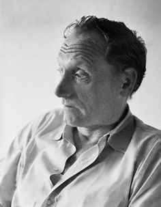 """""""But to poetry—You have to be willing to waste time.  When you start a poem, stay with it and suffer through it and just think about nothing, not even the poem.  Just be there.  It's more of a prayerful state than writing the novels is.  A lot of the novel is in doing good works, as it were, not praying.""""  Robert Penn Warren, uncredited photo"""