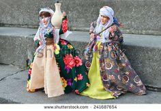 : Doll in Kurdish national costume