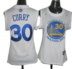 women olden State Warriors #30 Stephen Curry Home Jersey white $19.5
